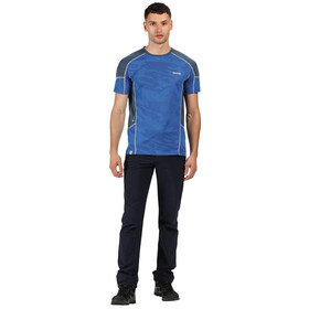 Regatta Camito Camiseta Hombre, nautical blue/dark denim